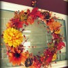 Dishin' the dirt on my fall wreath