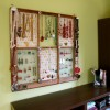 Window Frame Jewelry Display {Tutorial}