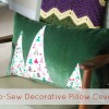 DIY: Easy No-Sew Applique Pillow Covers