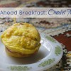 Easy Make-Ahead Breakfast:  Omelet Muffins!