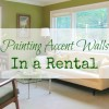 Reader Q: Painting Accent Walls in a Rental