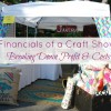 The Financials of a Craft Show: Profit and Costs