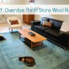 DIY Try: Overdye a Thrift Store Wool Rug