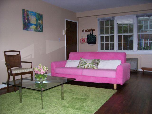 Pink Ikea Sofa DIY Rit Dye