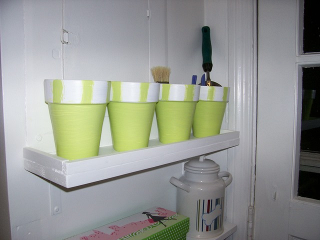 Flower Pots for Storage Containers