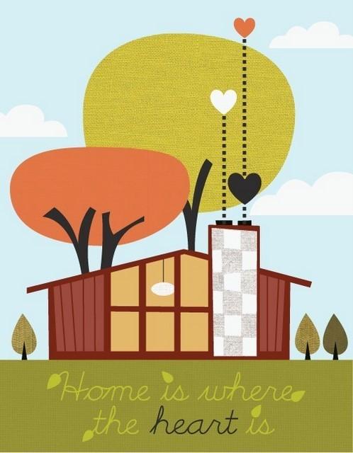 Window Shopping: Jenn Ski\'s Art on Etsy - The Borrowed AbodeThe ...
