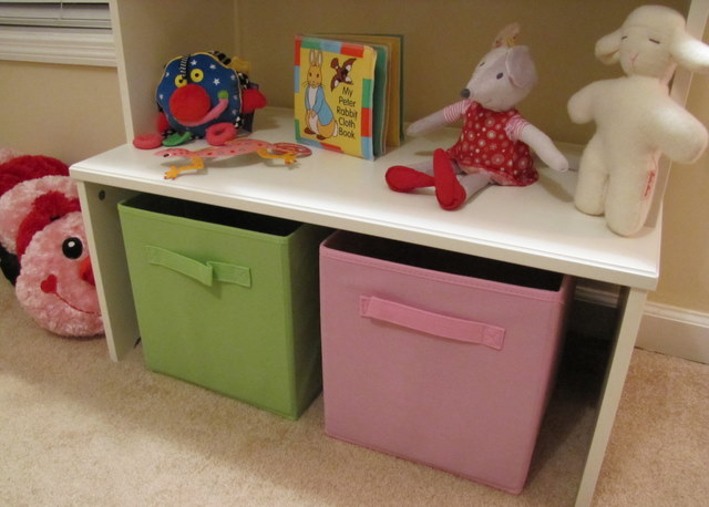 Nursery Decor Storage
