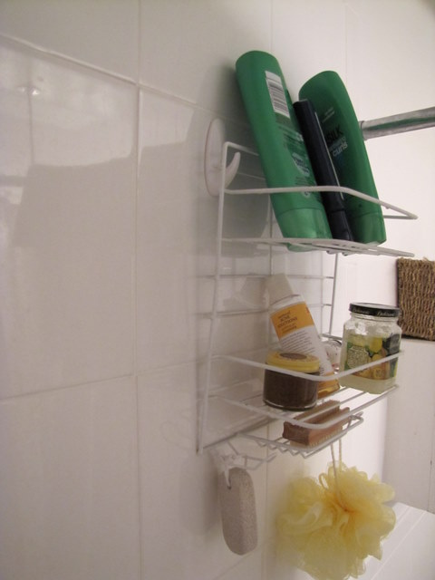 Shower Caddy Solution