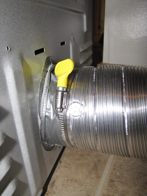 How To Repair A Dryer Vent The Borrowed Abodethe