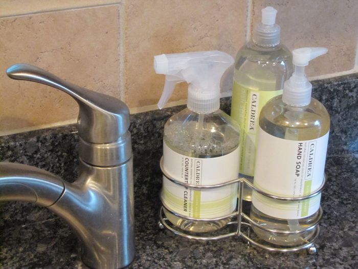 Kitchen Caldrea Dish Soap Caddy