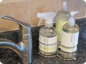 Kitchen Caldrea Dish Soap Caddy The Borrowed Abodethe