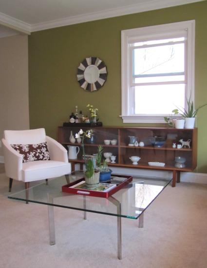 Living Room Painted The Borrowed Abodethe Borrowed Abode