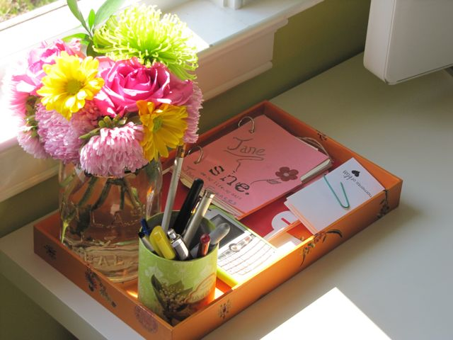 Flowers For Office Desk Design Ideas