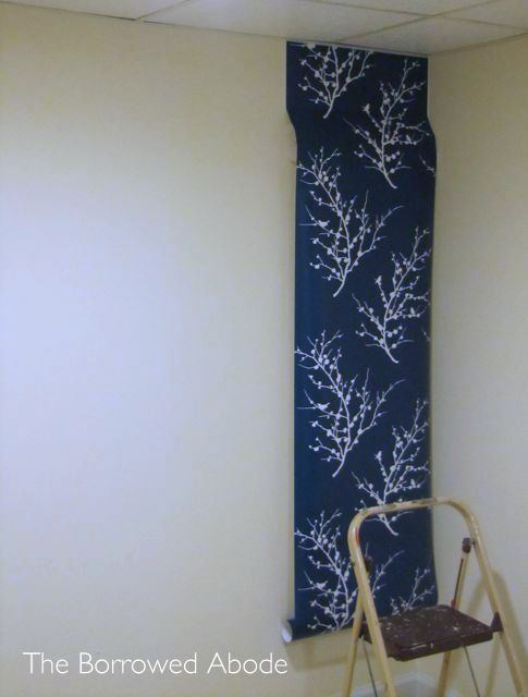 Hanging Tempaper removable wallpaper