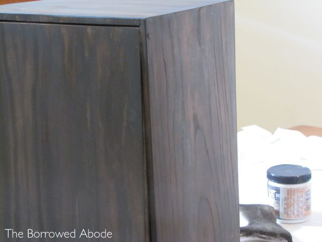 How to paint but keep woodgrain