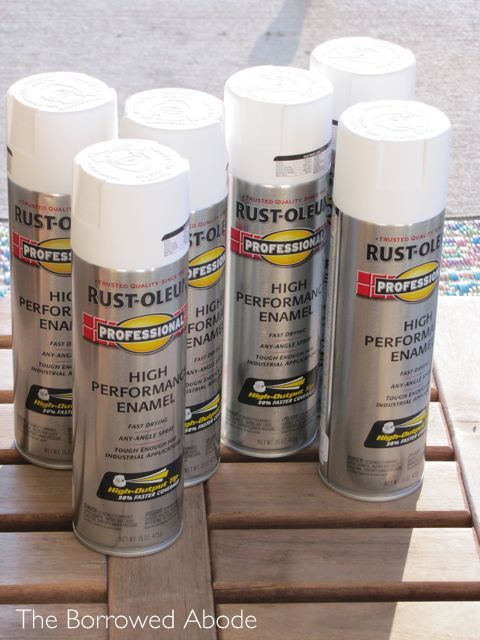 Rustoleum Enamel Paint On Wood