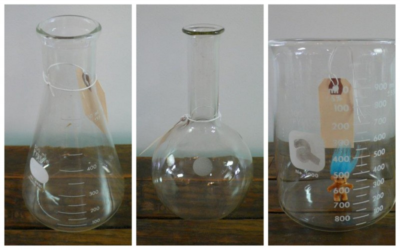 Vintage Pyrex Lab Beakers Just L