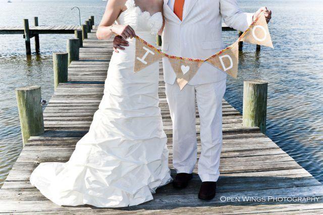 Jane Ryan Chesapeake Bay Wedding Portrait | TheBorrowedAbode.com