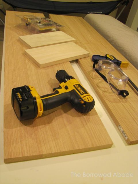 Building Mid Century Sofa Table Supplies