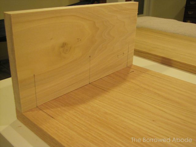 Measure Wood Joints for Dowels