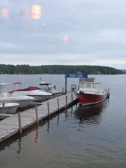 Boat Lake Winnipesaukee NH