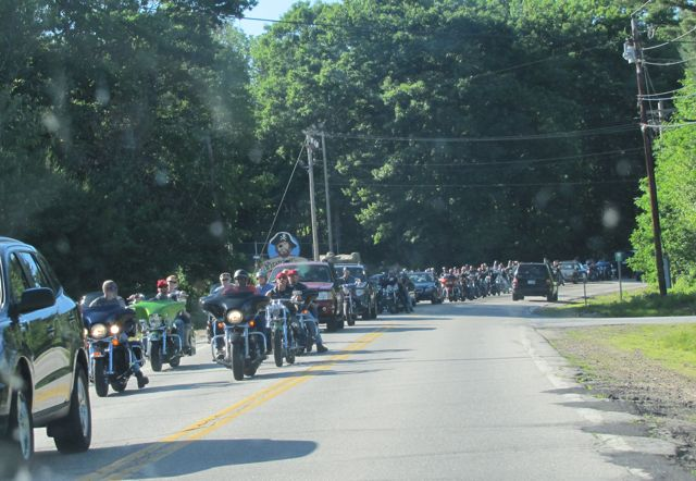 Bike Week NH Traffic Jam