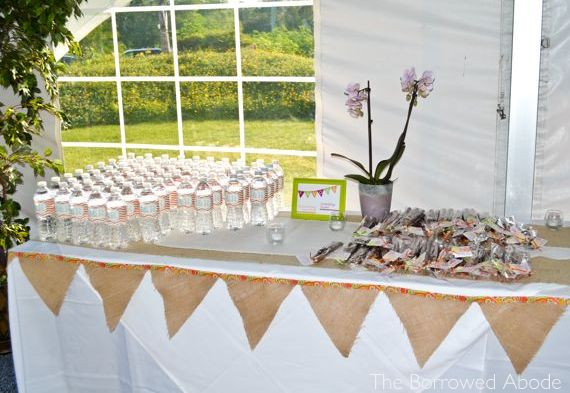 Wedding Favor Table