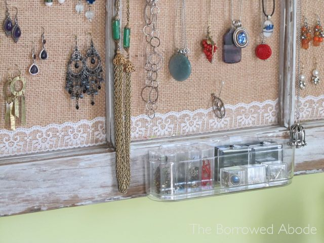 Window Frame Jewelry Storage Command Clear Container