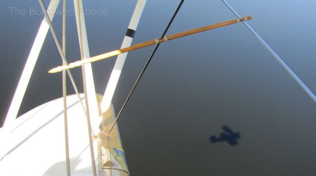 Biplane Shadow Lake Winnipesaukee NH