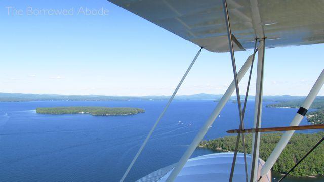 Biplane Ride Lake Winnipesaukee NH 1