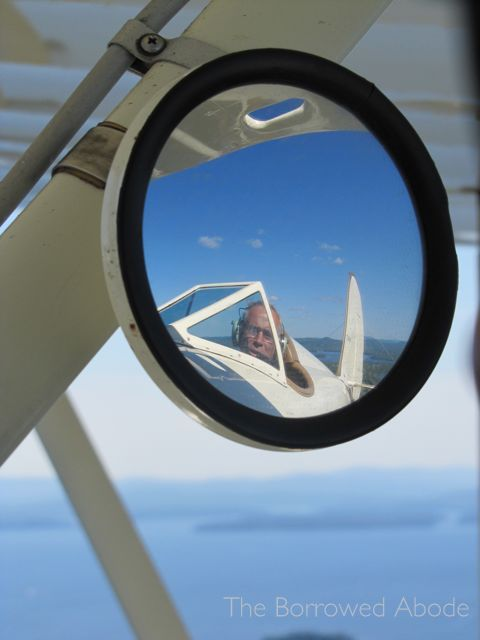 Phil Flying Lakes Biplane Lake Winnipesaukee NH