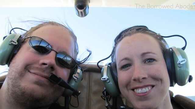 Jane Ryan Flying Biplane