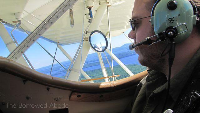 Ryan Biplane Ride