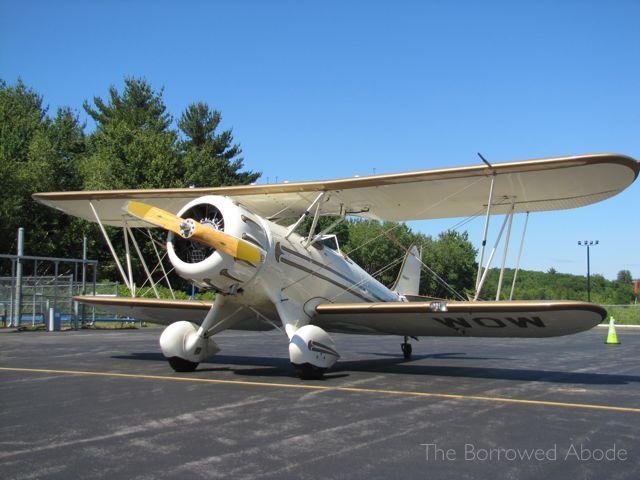 Waco YMF Biplane Ride New Hampshire