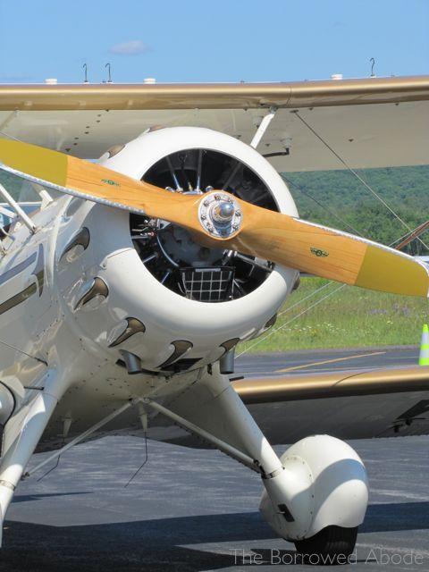 Waco YMF Biplane propeller