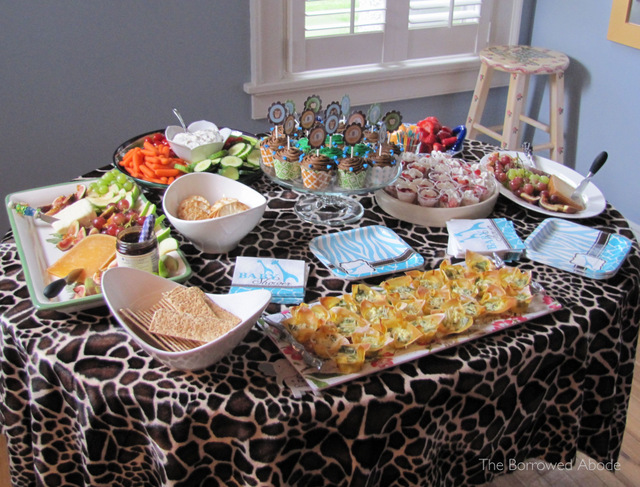 Baby Shower Food | TheBorrowedAbode.com