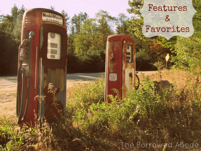 Vintage Gas Pump Features & Favorites | TheBorrowedAbode.com