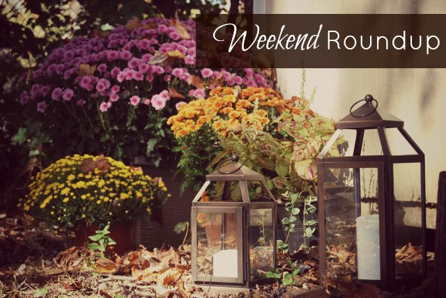 Weekend Roundup Oct 22 2012 | TheBorrowedAbode.com