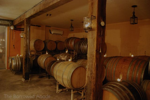 Linden Wine Cellar Oct 2012 | The Borrowed Abode
