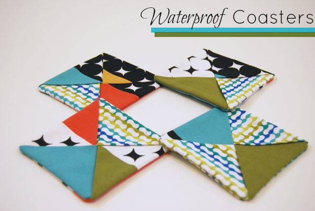 Waterproof Coaster Set from ShopJanery on Etsy