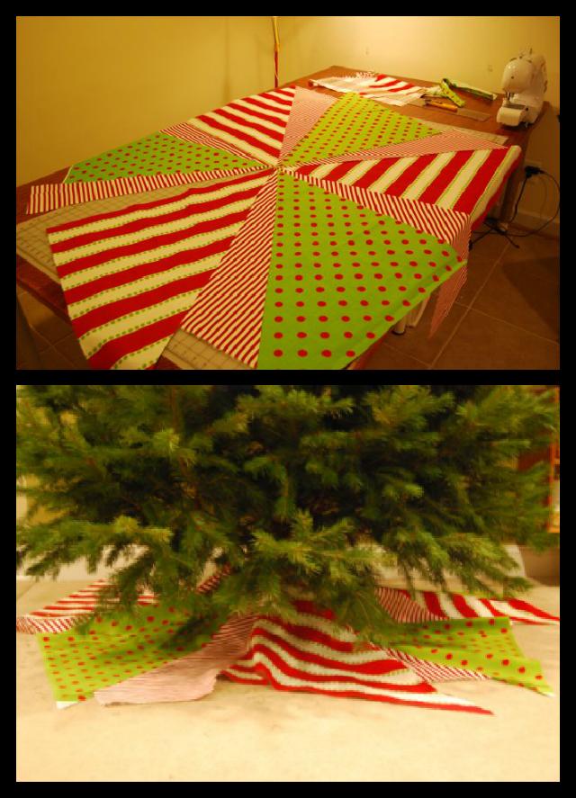 Christmas Tree Skirt Progress