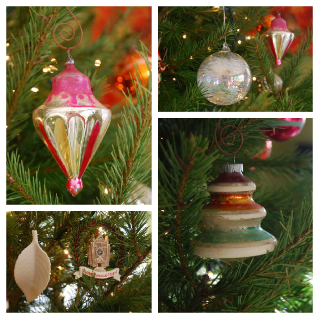 Favorite Vintage Christmas Ornaments 2012 | The Borrowed Abode