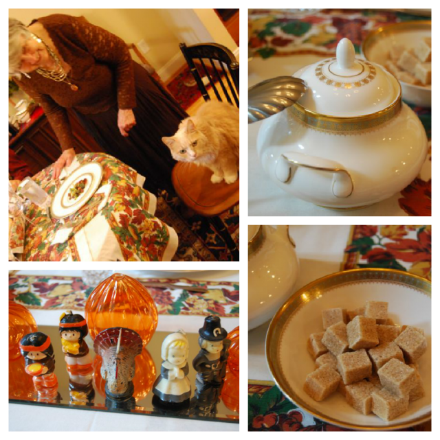 Thanksgiving Table Collage 2012 | The Borrowed Abode