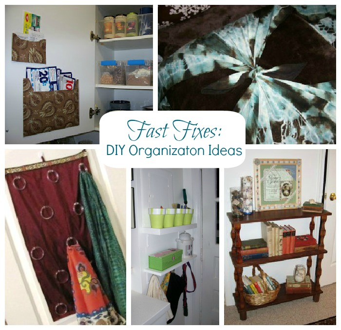 Fast Fixes DIY Storage and Organization | The Borrowed Abode