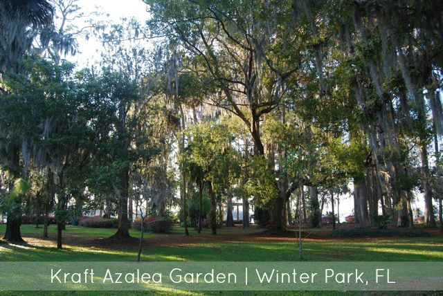 Kraft Azalea Garden Winter Park FL | The Borrowed Abode