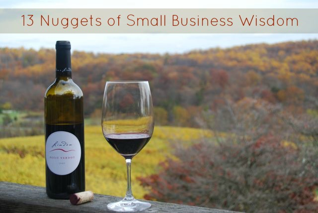 13 Tips of Small Business Advice from Jim Law of Linden Vineyards