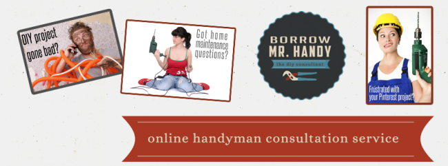 Borrow Mr Handy Online Handyman Consultation