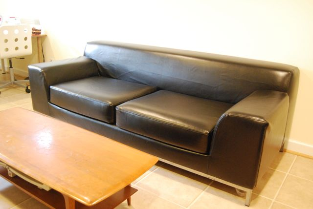 Comfort Works Leather Sofa Cover Review | The Borrowed Abode