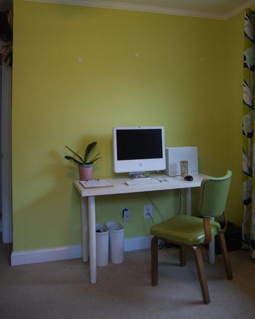 Old White Ikea Office Desk
