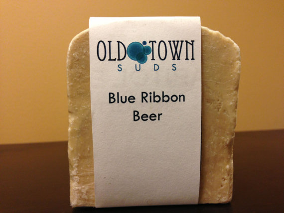 Blue Ribbon Beer Soap Old Town Suds